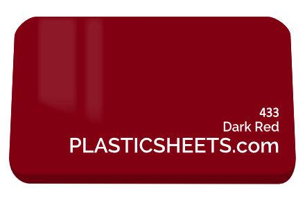 Dark Red Perspex Sheet