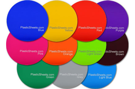 Coloured Acrylic Disc Cut To Size